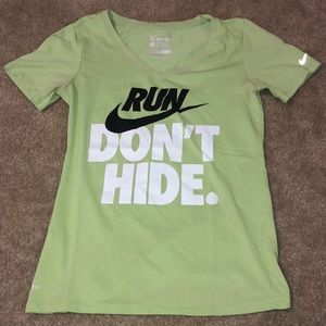 """THE NIKE TEE"" DRI-FIT WOMEN'S ATHLETIC SHIRT"
